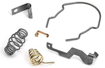 custom springs, wireforms, stampings